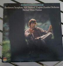 "Beethoven: Symphony No. 6 ""Pastoral"" Mic Tilso Thomas/English 1979( CBS M 35169)"