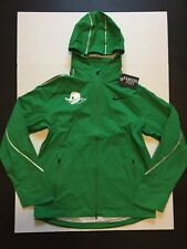Nike NCAA Oregon Ducks Removable Hoodie Jacket Green Men's Size XL NWOT