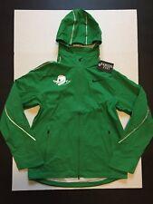 Nike NCAA Oregon Ducks Removable Hoodie Jacket Green Men's Size M NWOT