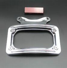 License Plate Frame Bracket For Harley Street Glide Road King Road Glide Chrome