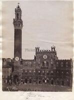 Siena Palais Italia Vintage Albumina 1881