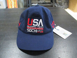 NEW Ralph Lauren Polo 2014 Sochi Olympic Team Hat Cap Boys Size 4-7 Children Kid