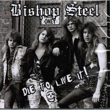 BISHOP STEEL Die To Live It ! CD ( o18a ) 80ties US-Metal 162246