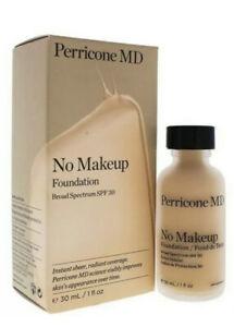 Perricone MD No Makeup  Foundation SPF 30 (NO. 2 Light to Mediu) 30ml no box
