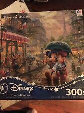 Mickey And Minnie 300 Piece Thomas Kinkade Puzzle