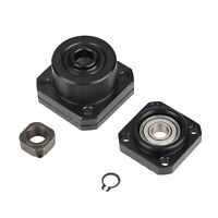 Fixed Floated Side End 10mm Supports Bearing Housing Mounts for Ball Screw New