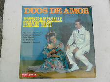 DUOS DE AMOR MONTSERRAT CABALLE VERGARA 748STL  VINYL LP