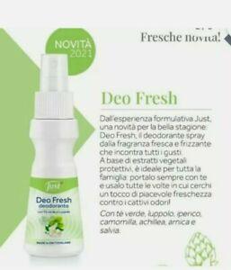 deodorante Just spray deo fresh novità tè verde tea the luppolo prodotto nuovo
