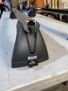 BMW OEM FACTORY BMW E90/92 3 SERIES ROOF RACK Painted Black (paint Has Chips)