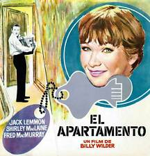The Apartment Movie Poster 30x30 Jack Lemmon Shirley MacLaine Fred MacMurray Ray