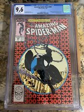 Amazing Spider-man ASM 300 CGC 9.6 White Pages Venom First Appearance