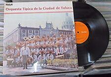 ORQ.TIPICA DE LA CIUDAD DE TOLUCA SELF TITLED MEXICAN LP LISTEN TRACK BELOW