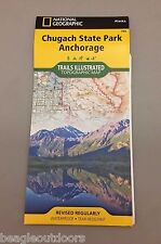 National Geographic Trails Illustrated AK Anchorage Chugach State Park Map 764