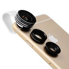 Mpow 3 in 1 Clip On 180 Degree Fisheye Lens Wide Angle Macro Lens for samsung Pc