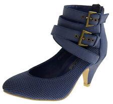 Women's Kitten Heel Synthetic Leather Shoes