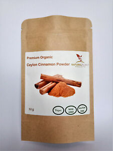 PREMIUM QUALITY ORGANIC TRUE  CEYLON CINNAMON POWDER
