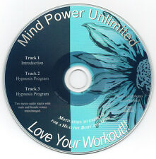 Love Your Workout!  / Exercise Motivation - Guided Imagery - Hypnosis Audio Prog