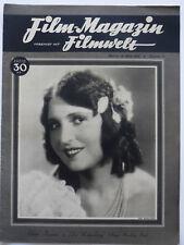 FILM-MAGAZIN v. mit Filmwelt, Heft 11/ 16.3. 1930, Weimarer Republik, Original!