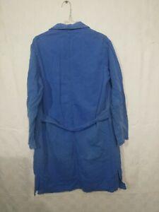 blouse bleue coton , ouvrier , campagne / d171