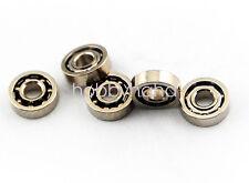 New 10 Pcs 681x 681x Zz Miniature Bearings Mini Open Bearing 15x4x12mm