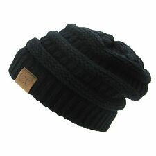 Brand New CC Beanie Womens Cap Hat Skully Unisex Slouch. 308845272b38