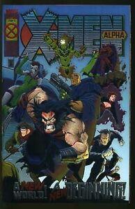 X-MEN ALPHA OMEGA PRIME NEAR MINT COMPLETE SET 1994