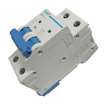 1 Amp 2 Pole Din Rail Mount Circuit Breaker UL 208, 230, 240 & 480 Volt Class C