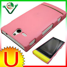 Custodia rigida ROSA per Sony Xperia U ST25i anti graffi back cover