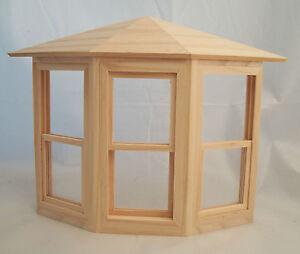 Working Bay Window  dollhouse miniature  #5020 1pc 1/12 scale Houseworks