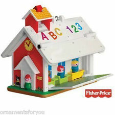 Hallmark 2010 Play Family School Fisher Price  Ornament