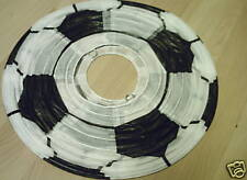 FOOTBALL CEILING LIGHT SHADE BLACK AND WHITE BRAND NEW