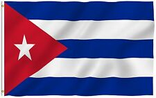 ANLEY Cuban Flag Cuba National Banner Polyester 3x5 Foot Country Flags