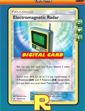 Electromagnetic Radar (FOIL) - for Pokemon TCG Online ( ptcgo in Game Card)
