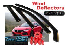 Honda Civic X 2017 -  5.doors Wind deflectors 4.pc   HEKO  17181