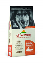 More details for almo nature dog food holistic large with salmon and rice 12 kg