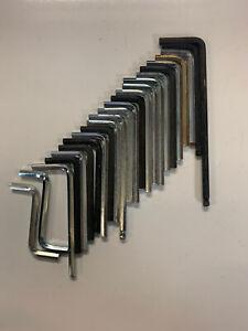 4mm Allen Key Allsorted Lengthes Set Of 4 DIY tools