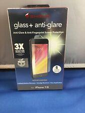 New ZAGG Invisible Shield Glass + Anti-Glare Protector iPhone 7 / 8