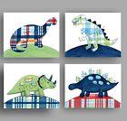 dinosaur art prints for boys madras dino bedding bedroom wall art decor pictures