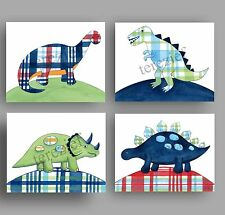 dinosaur art prints for boys madras dino bedding bedroom wall art decor pictures