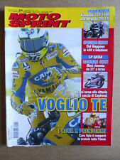 MOTOSPRINT n°15  2006   [Q29]  TEST KAWASAKI ZZR 1400 - VALENTINO ROSSI