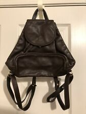 Authentic Longchamp Small Brown Backpack