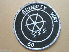 Brindley Way 60 Walking Hiking Woven Cloth Patch Badge