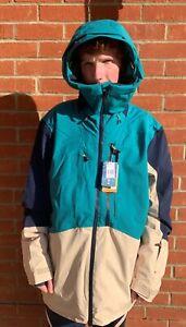 BNWT Quicksilver Men's Travis Rice Stretch Snow Jacket, Ski Snowboard, RRP £340