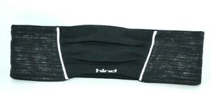 Hind Black Headband Women's Cold Weather Quilted Wicking Head Warmer Shimmery
