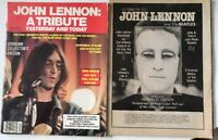 John Lennon Tribute Magazines (beatles)