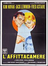 cartel de La película la'ALQUILER DE VACACIONES novak, lemmon, astaire, QUINE