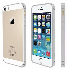 For iPhone SE,5,5S Metal Anodized Bumper Style Protective Cover Case SILVER