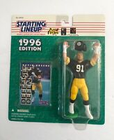 1996 NFL Starting Lineup Kevin Greene Pittsburgh Steelers Action Figure