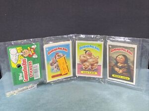 1986 Garbage Pail Kids Stickers Rack Pack by Topps 24 Total SEALED