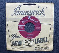 """7"""" Buddy Holly - Maybe Baby - USA Brunswick"""